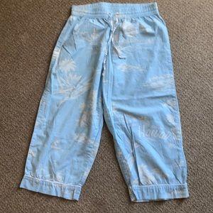 Gap Body lightweight crop pajama bottoms